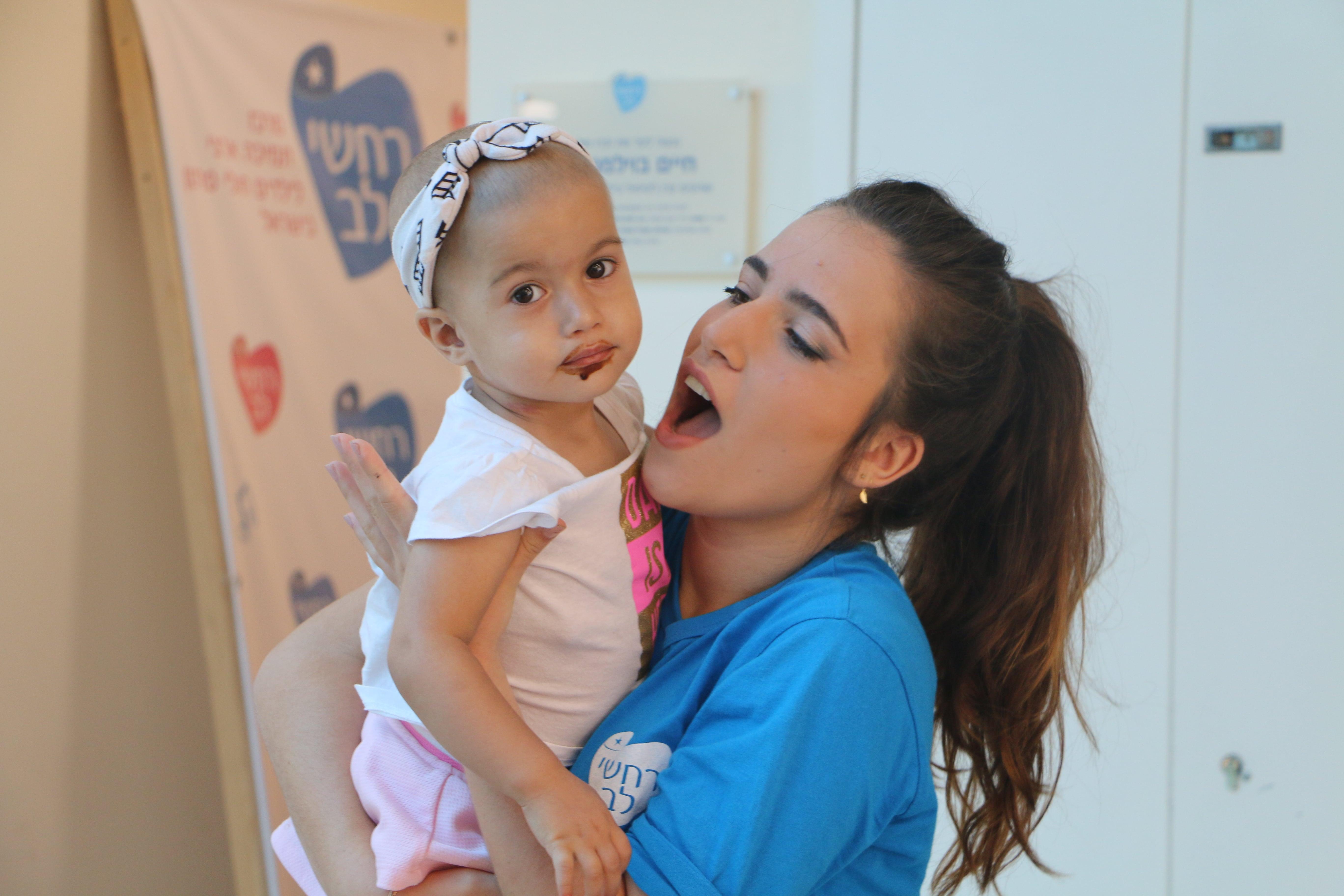 רחשי לב - תורמים ומצילים חיים של ילדים חולי סרטן