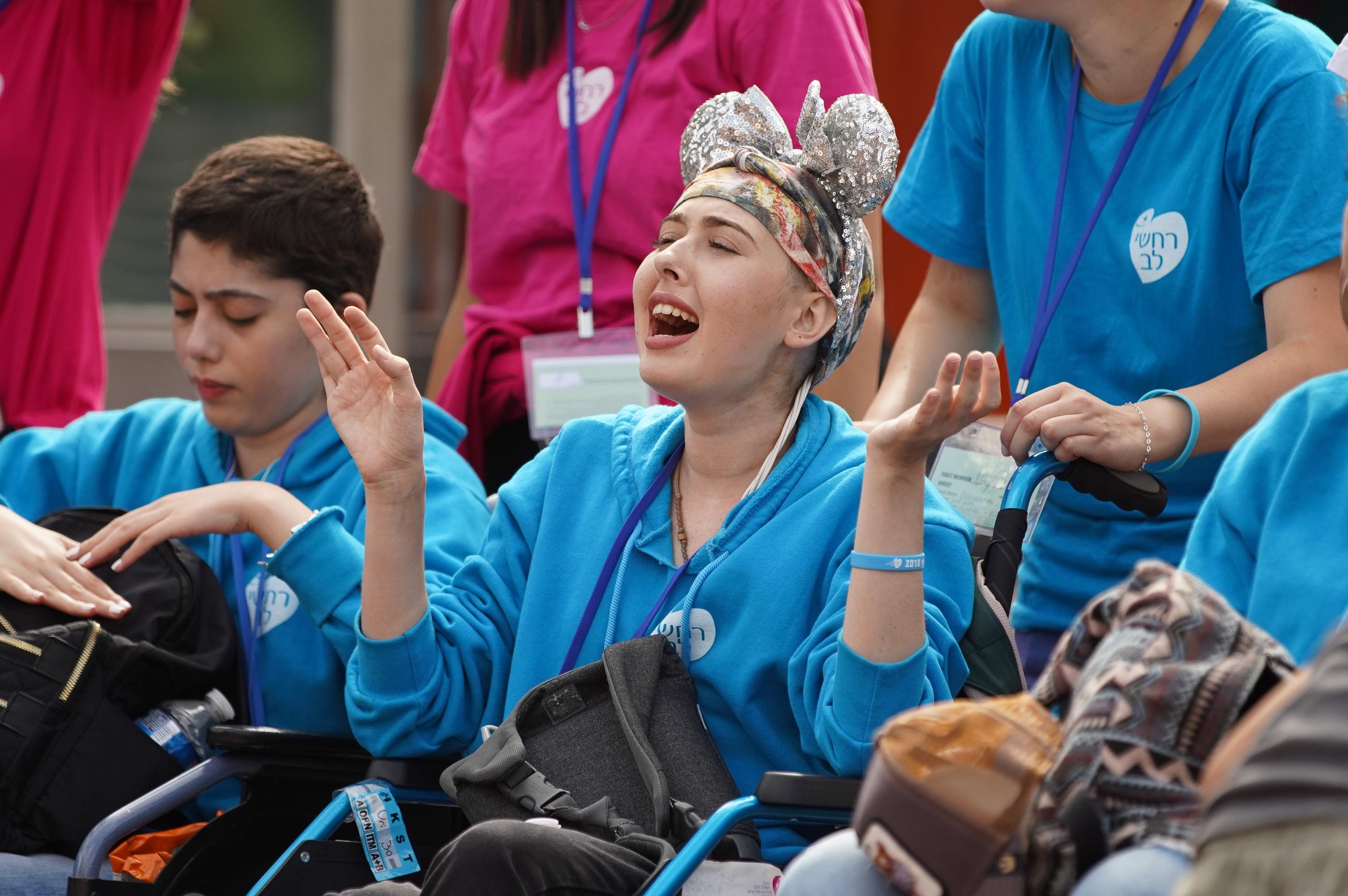נופשים וימי כיף למען ילדים חולי סרטן - רחשי לב