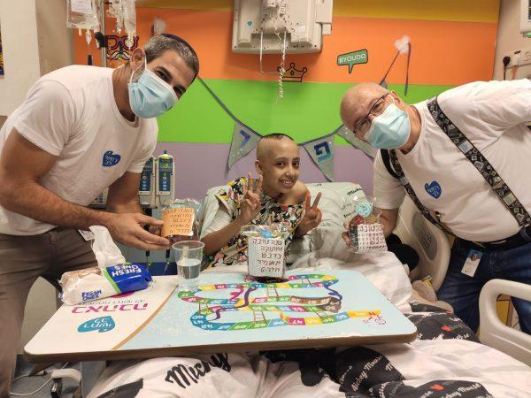 אודות עמותת רחשי לב, עמותה למען ילדים חולי סרטן